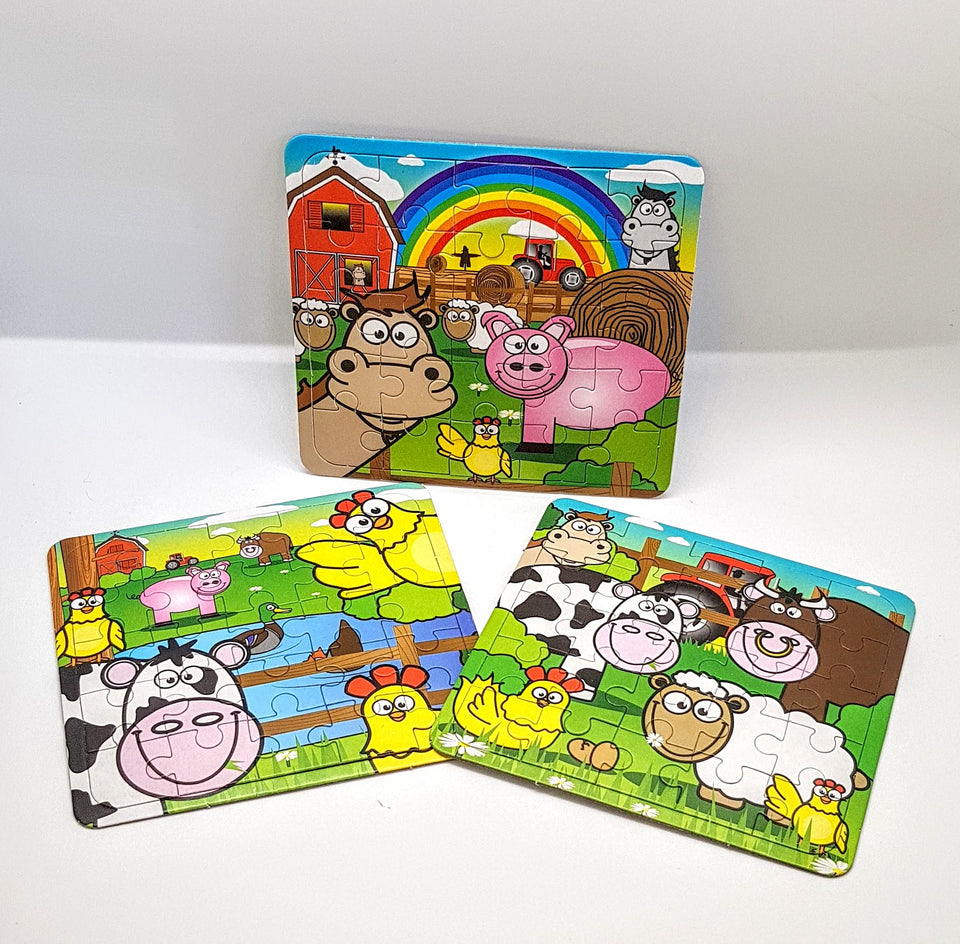 Farm Animal Jigsaw Puzzle