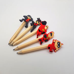 The Incredibles Pencil Topper + Short Pencil
