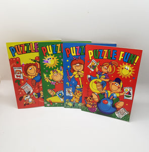 Puzzle Fun! Activity Books