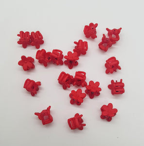 Tiny Flower Jaw Clips