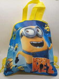 Despicable Me Minion Backpack Drawstring Bag