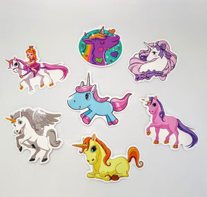 Unicorn Waterproof Stickers