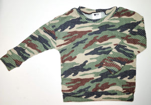Brushed Camo LS top