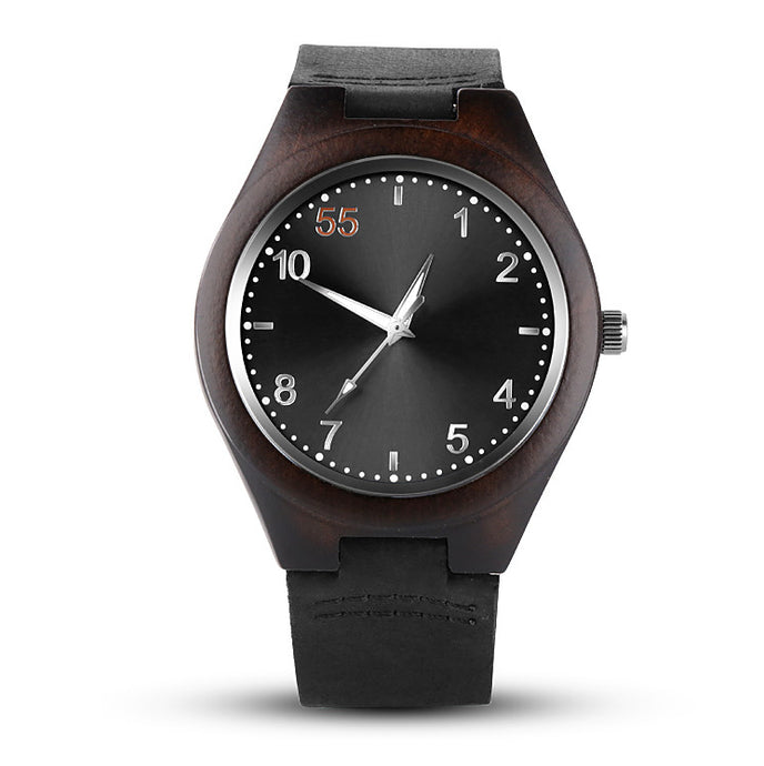 Mount Pleasant Bamboo Watch