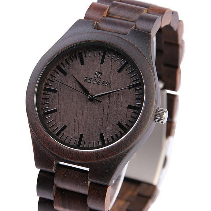 Glebe All Wood Wrist Watch