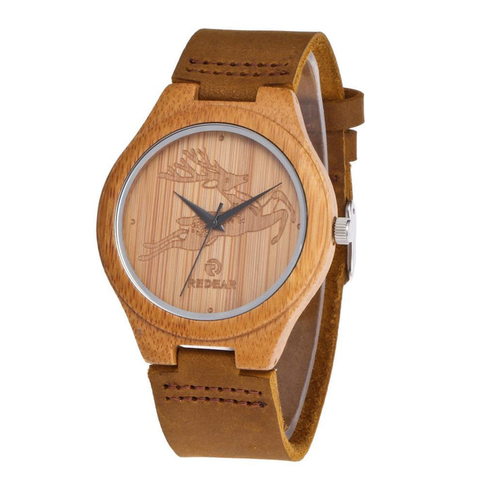 Cypress Deer Bamboo Watch