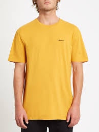 volcom crass blanks ltw ss t inca gold