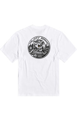 element b side boy ss tee optic white