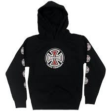 independent youth truck co hood black