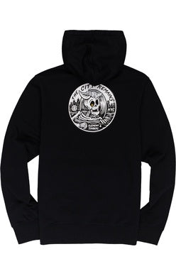 element boys b-side hood flint black