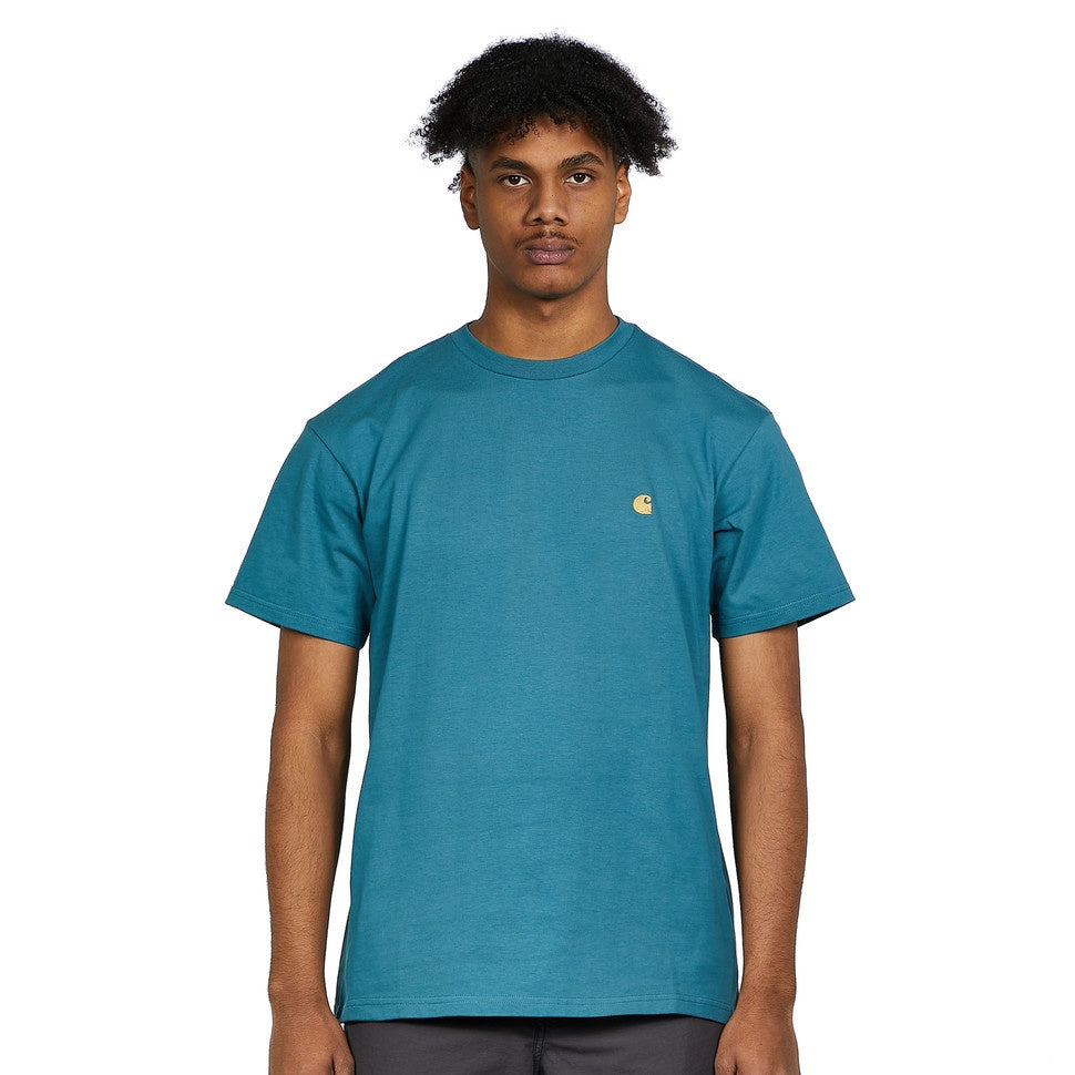carhartt s/s chase t shirt hydro gold