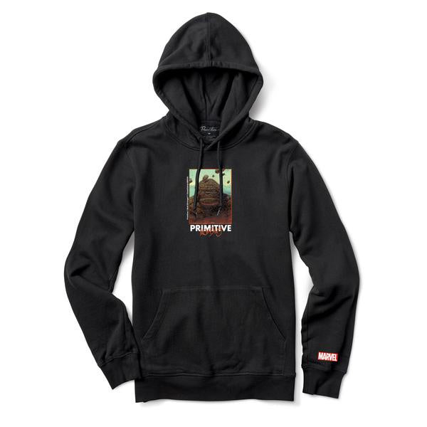 primitive marvel thing hood black