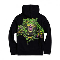 element big cat hood flint black
