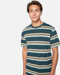hurley dri-fit harvey stripe patch seaweed