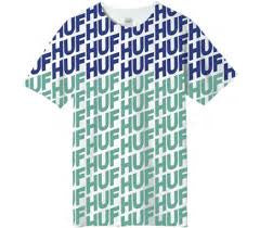 huf wave tee hot lime