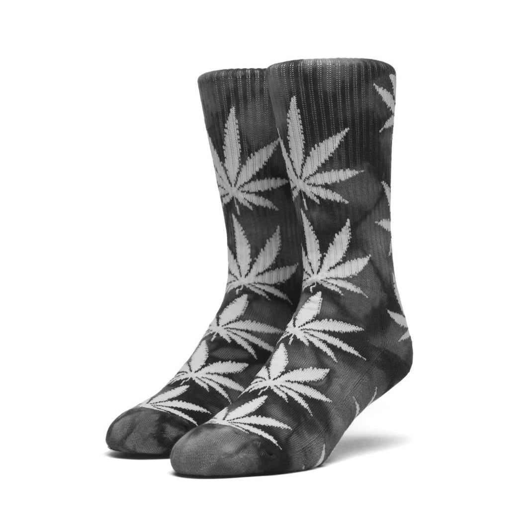 huf crystal wash plantlife socks black