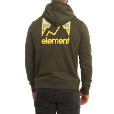 element joint hood forest night