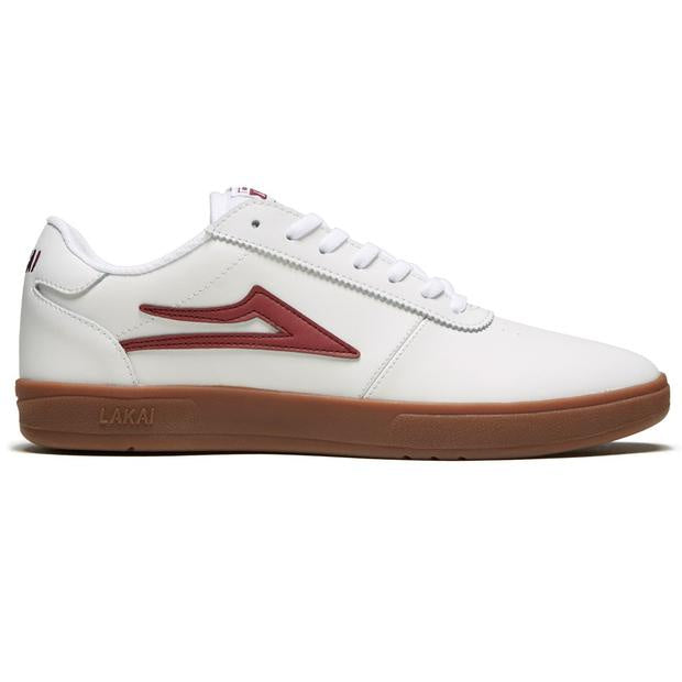 lakai manchaster xlk white gum leather