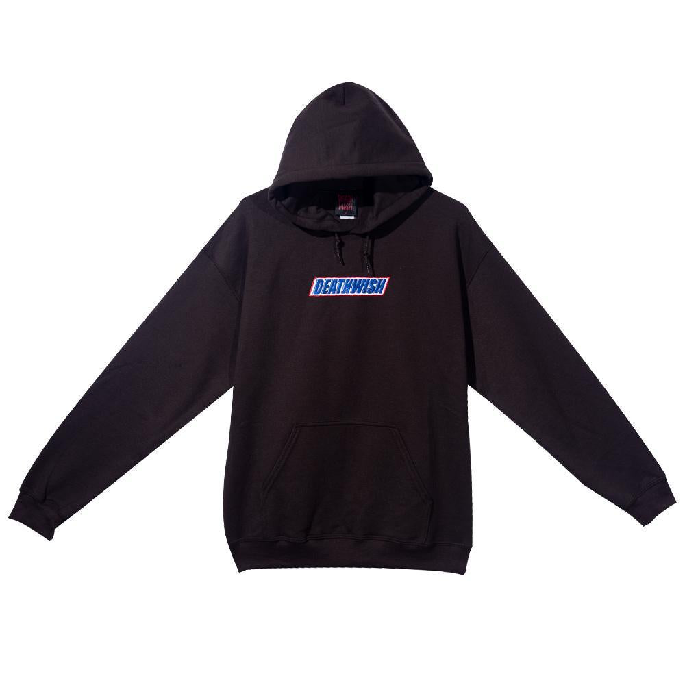 deathwish hangry men hood brown