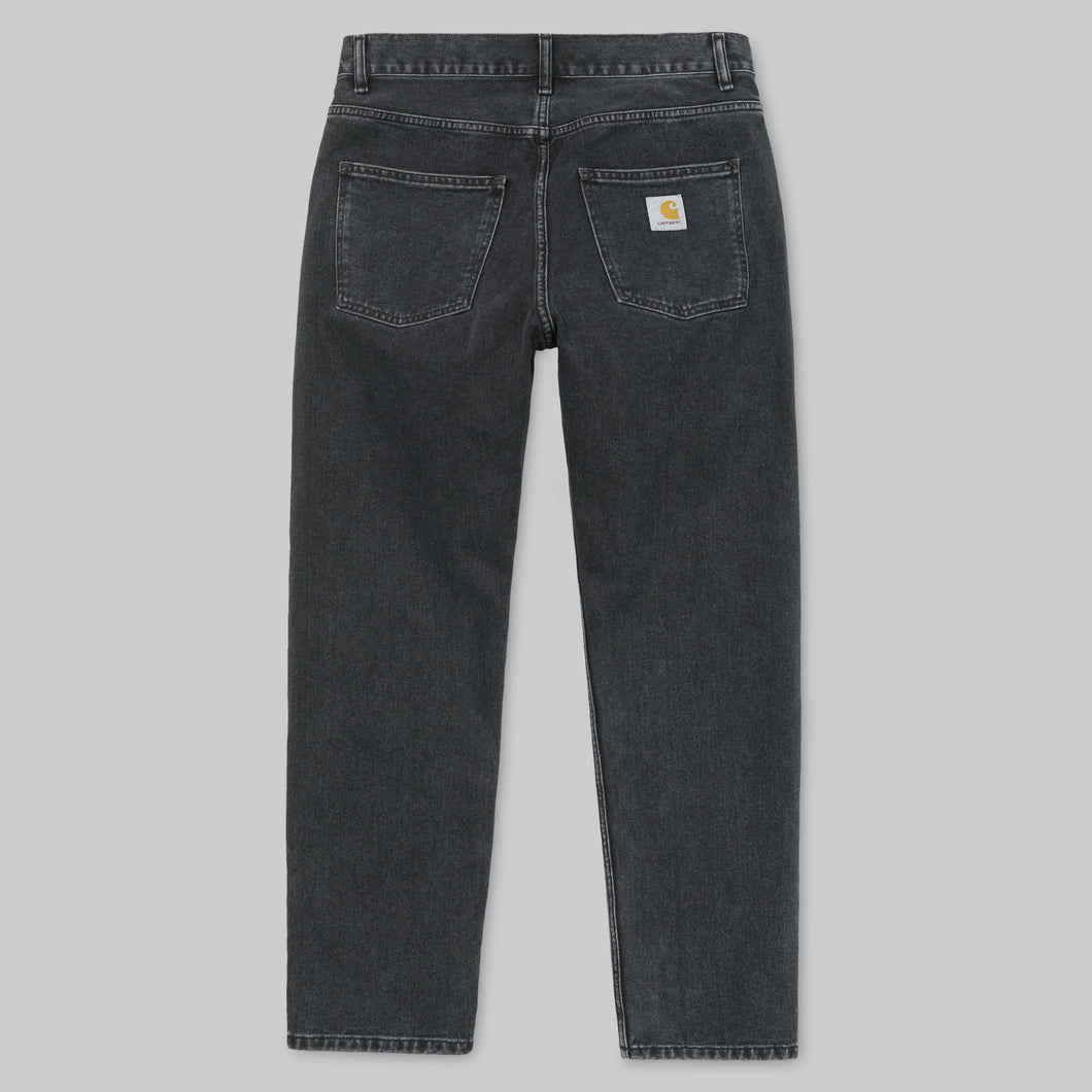 carhartt newel pant black stone washed