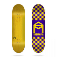 Skatemafia logo checker purple 8.1