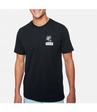 hurley chillaxing t black