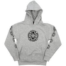 independent youth truck co hood heather grey