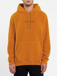 volcom hever p/o hooded inca gold