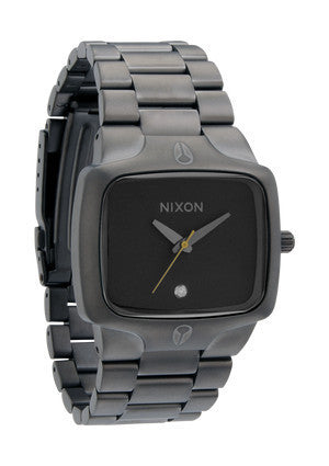 nixon player horloge all gunmetal/black