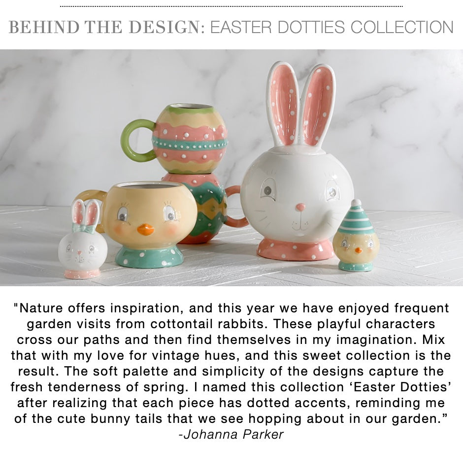 Johanna Parker Easter Dotties Collection Spring 2022 California Englished