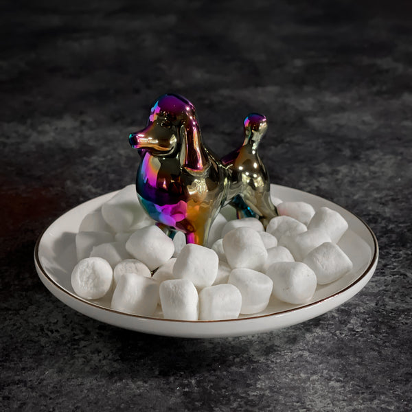 Iridescent Poodle Ring Dish Gift Set | One Hundred 80 Degrees