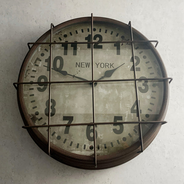 New York Subway Clock