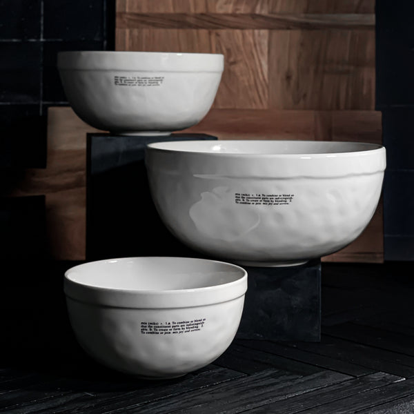 Rae Dunn Kitchen Icon Mixing Bowls | California Englished
