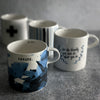INDIGO DREAMS Short Mug Set