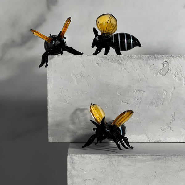 Handmade Glass Bee Decor | Spring Collection