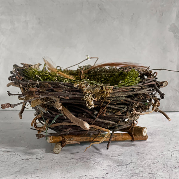 Handmade & Naturally Crafted Bird's Nest Decor | Spring Collection at California Englished
