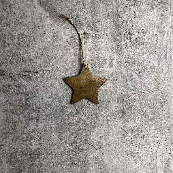 Antique Distressed Star Ornament