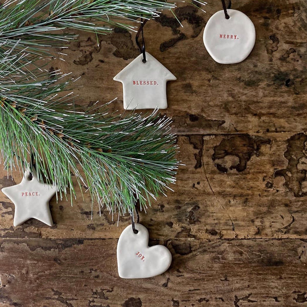 Boutique Collection Holiday Ornament Set