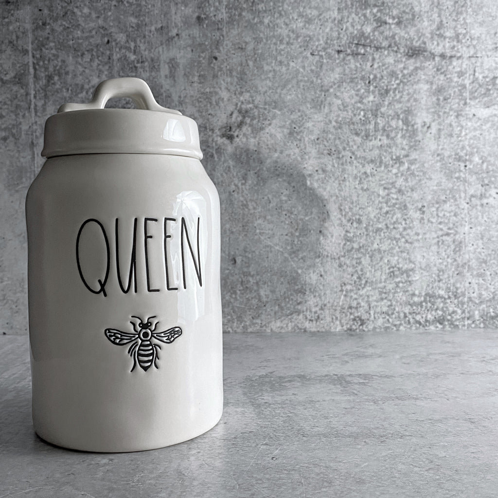 Rae Dunn QUEEN BEE Canister | Shop Now at California Englished