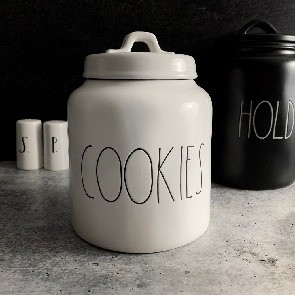Rae Dunn COOKIES Canister Jar | Buy Rae Dunn Online at CaliforniaEnglished.com