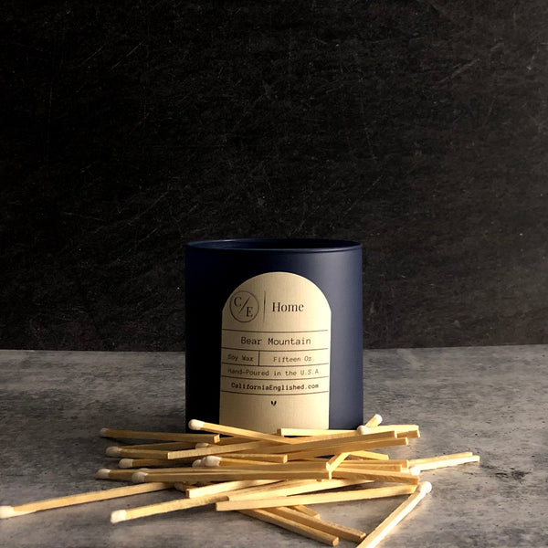 California Inspired Home Decor | Homesick Candles | Shop Now | CaliforniaEnglished.com | California Englished Bear Mountain Candle