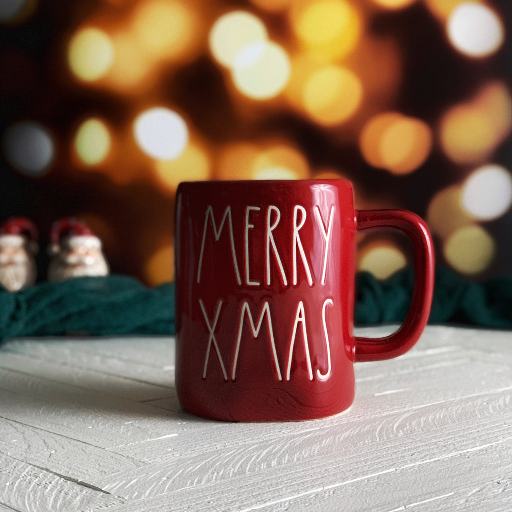 Rae Dunn Merry XMAS Christmas Holiday Mug