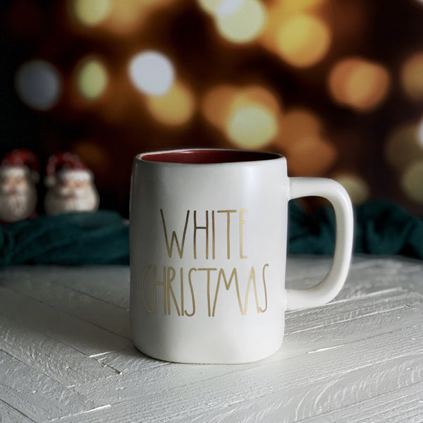 Rae Dunn WHITE CHRISTMAS Holiday Mug