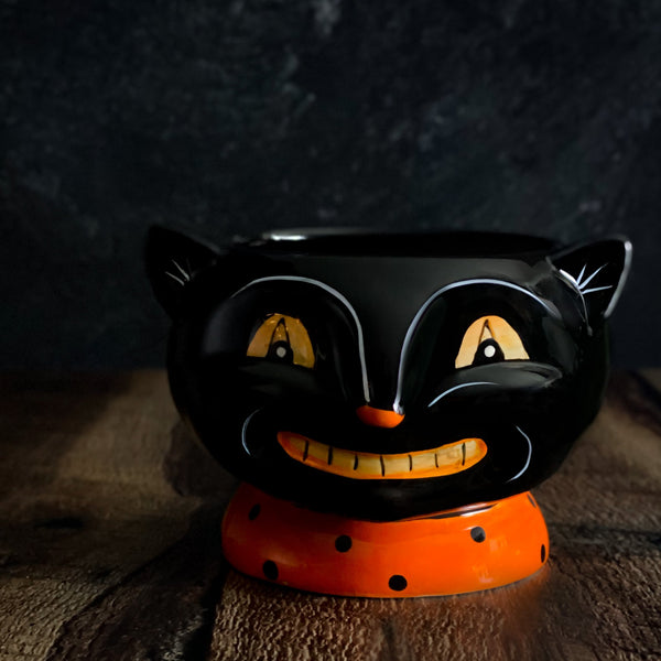 SECONDS: Johanna Parker Black Cat Candy Dish