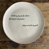 SENTIMENT Oversized Serving Platter