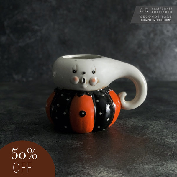 SECONDS: Johanna Parker Ghost Halloween Mug