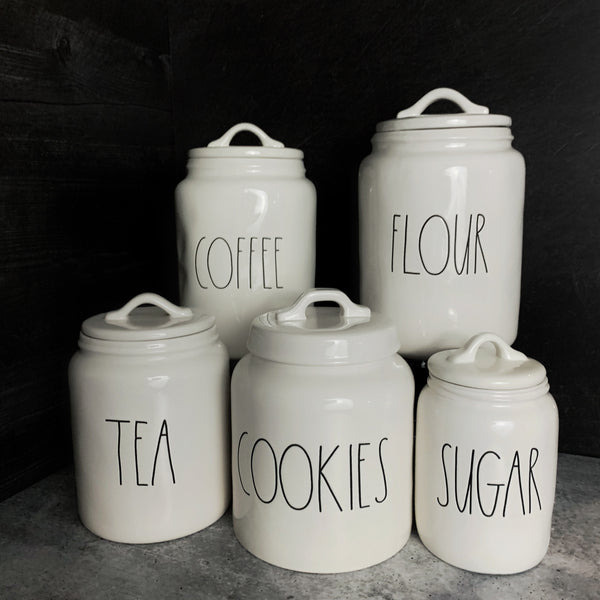 Rae Dunn Canister Set | Buy Rae Dunn Canister Sets Online at California Englished