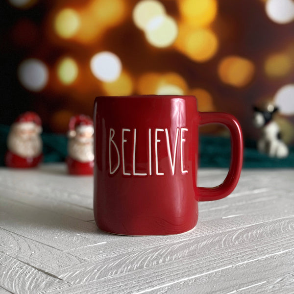 BELIEVE Holiday Mug