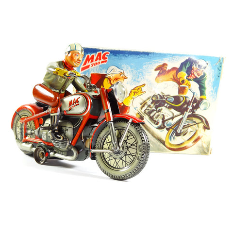 Arnold Mac 700 Red motorcyle with original box