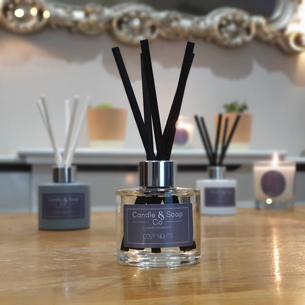 Cosy Nights - Glass Reed Diffuser